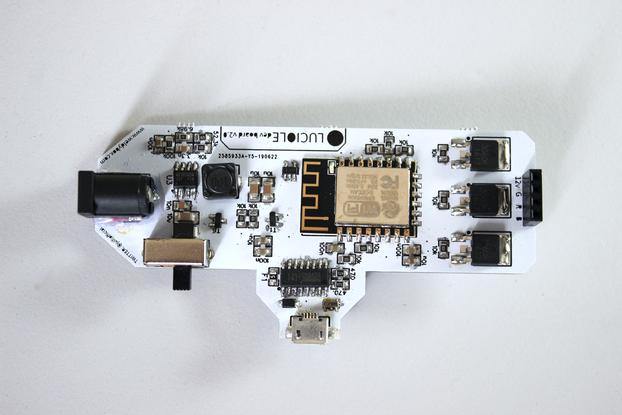 Luciole v2.1 - Wifi RGB LED Controller /w ESP8266