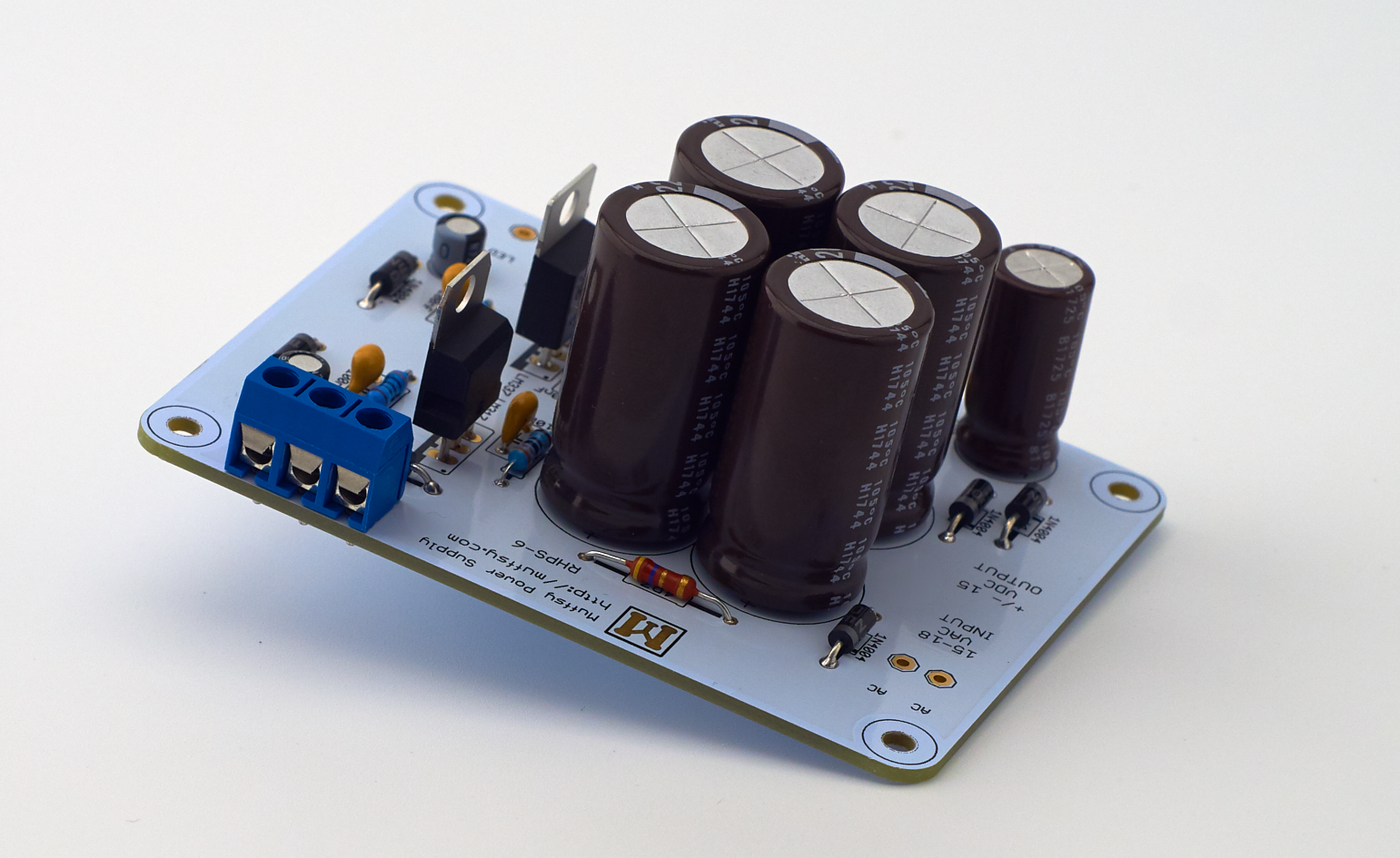 Muffsy Hifi Dual Power Supply V4 Kit From On Tindie Amp Wiring With Capacitor 1