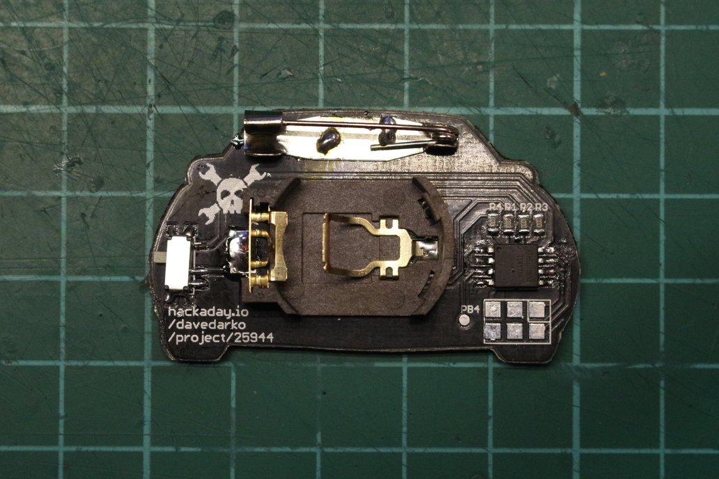 K.I.T.T. Knight Rider Blinky LED Badge 2