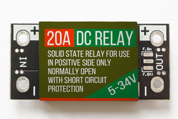 Solid State DC Relay 20A