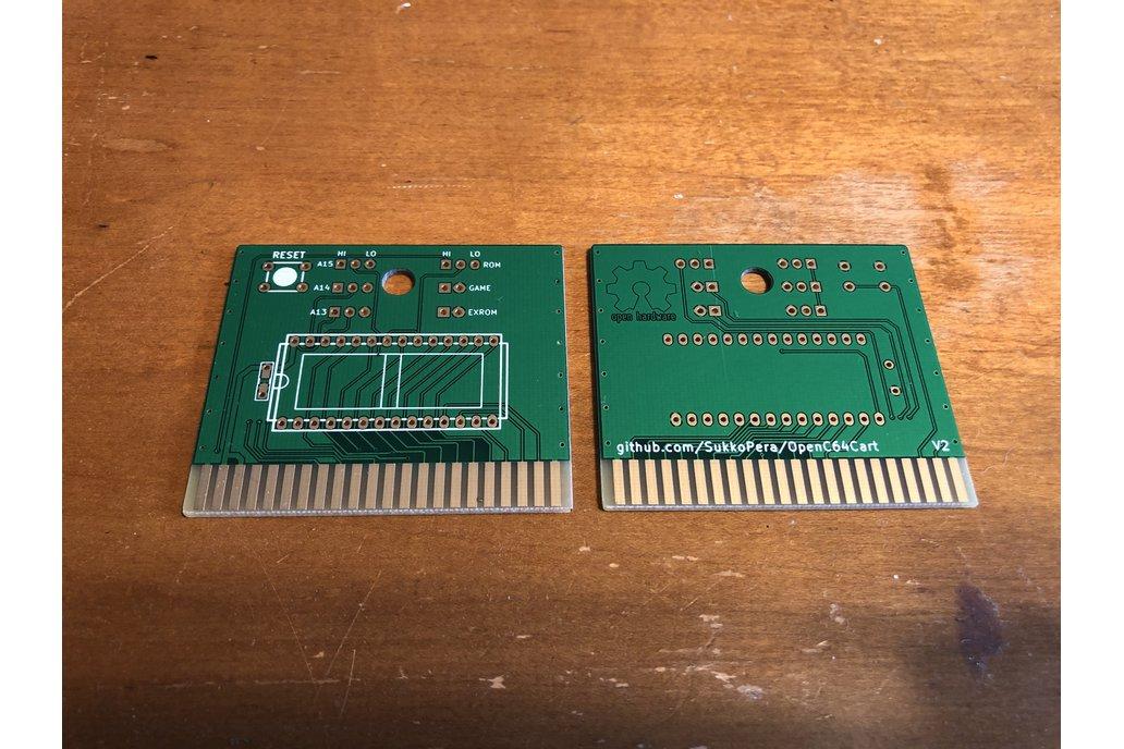 OpenC64Cart Commodore 64 8K Cartridge PCB 1