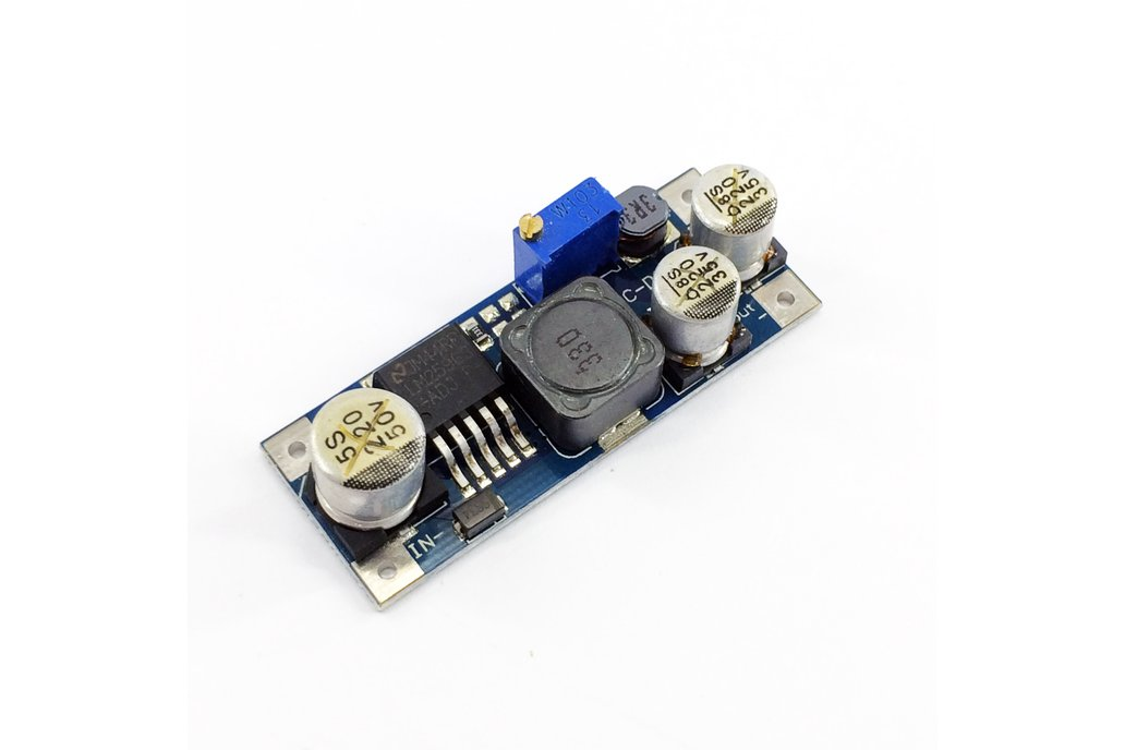 LM2596S Mini DC-DC buck step-down module 1