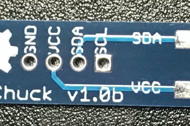 WiiChuck - A Wii Nunchuck Breakout Board / Adapter