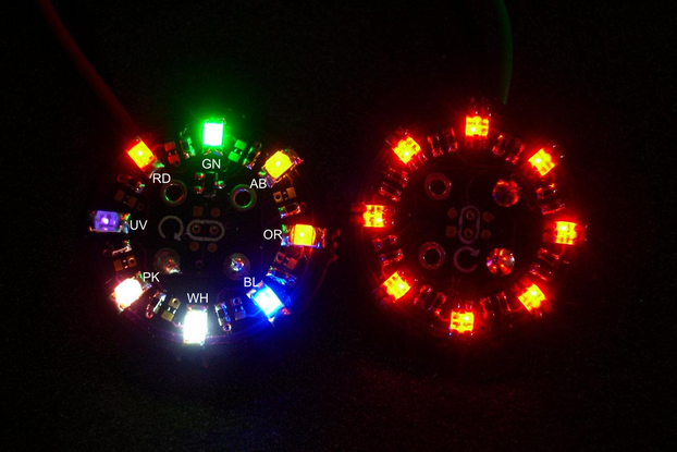 Sew-on Coat-Button - Blinky version
