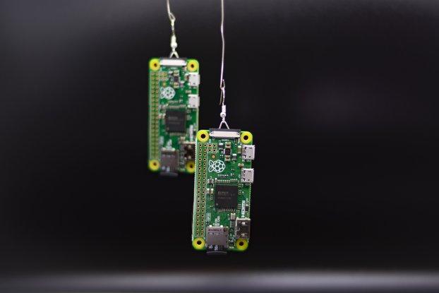 PiDrops: Raspberry Pi Earrings