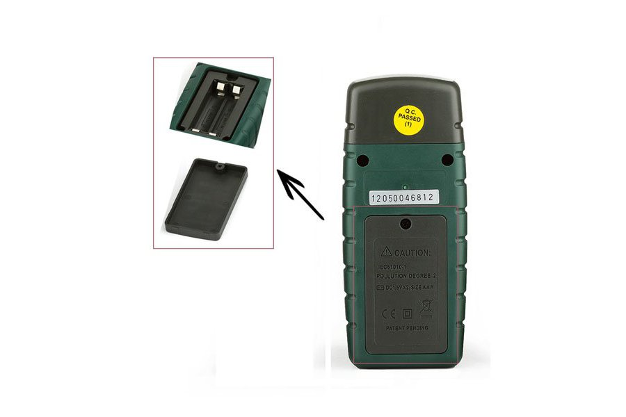 Wood Timber Moisture Humidity Temperature Detector