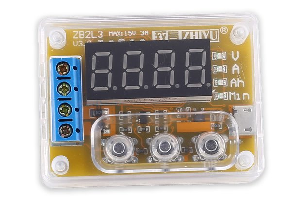 Battery Capacity Tester Voltage Current Indicator
