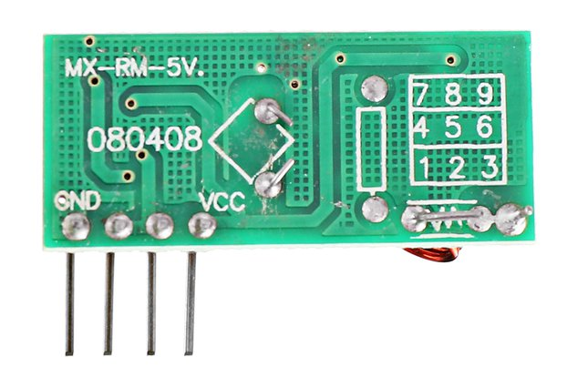 433Mhz RF Decoder Transmitter With Receiver Module