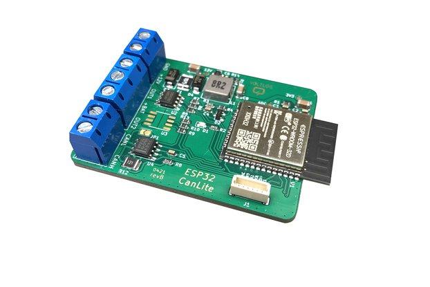 CanLite ESP32 CAN Development Board
