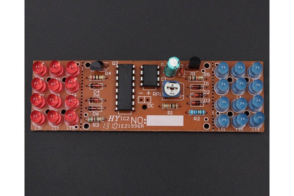 Red Blue Flashing Light DIY Kit(4986) 3