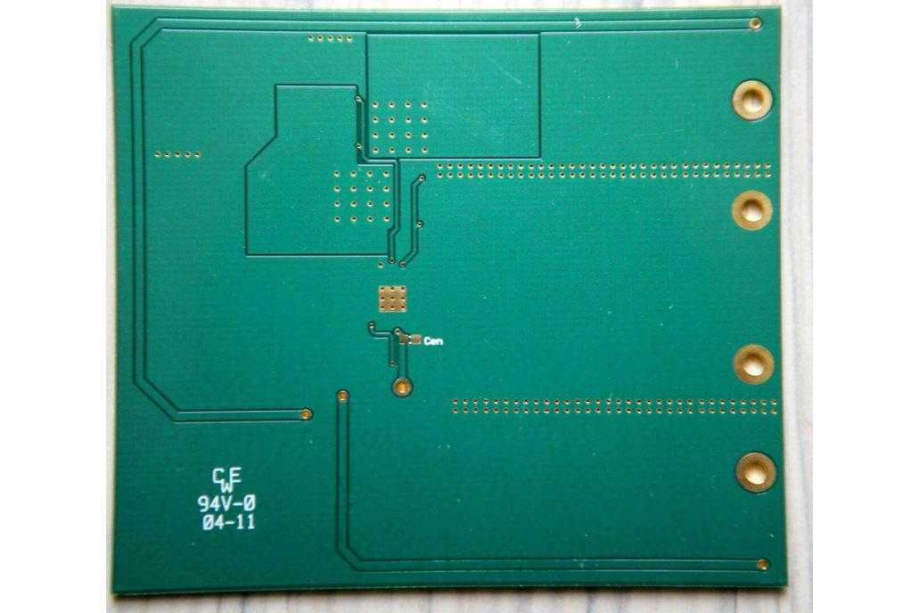 LM3150 WeBench Build It - prototype board - NEW 1