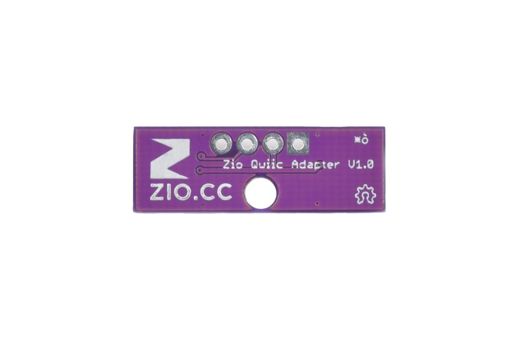 Zio Qwiic Adapter (Qwiic to 4-Pin Header) 3