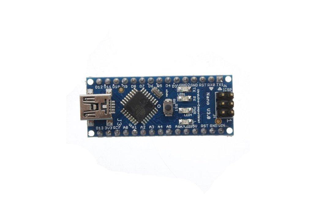 Nano V3.0 ATmega328P-AU Microcontroller Board 4