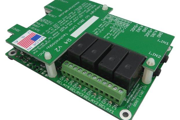 FargoR4ADI Ethernet I/O Relay Control Board, POE