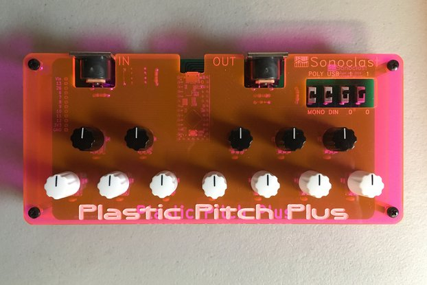Plastic Pitch Plus Microtonal MIDI Machine