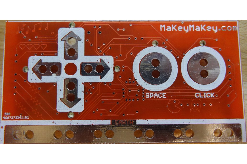 This is the PCB for the sparkfun MakeyMakey ver 1