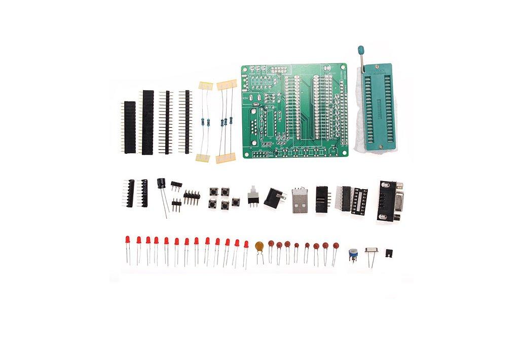 51/AVR Microcontroller Learning Board 1
