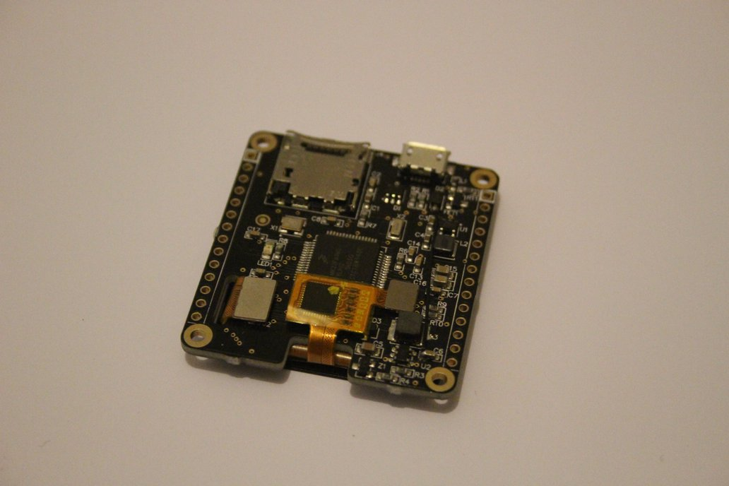 Blaze: Wearable Dev Board With Touch Display 4