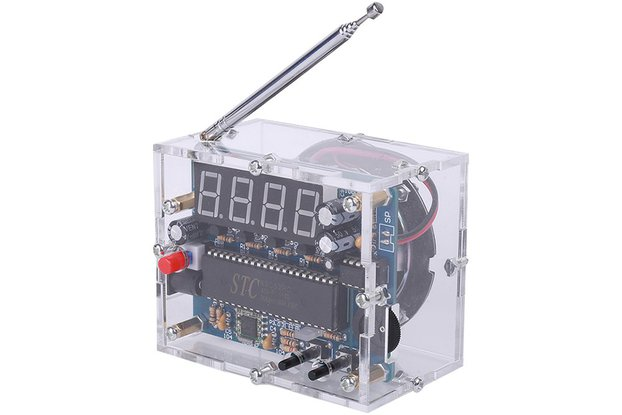 87MHz-108MHz FM Radio Receiver DIY Kit_GY18972
