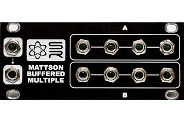 1U Mattson Buffered Multiple Eurorack Module