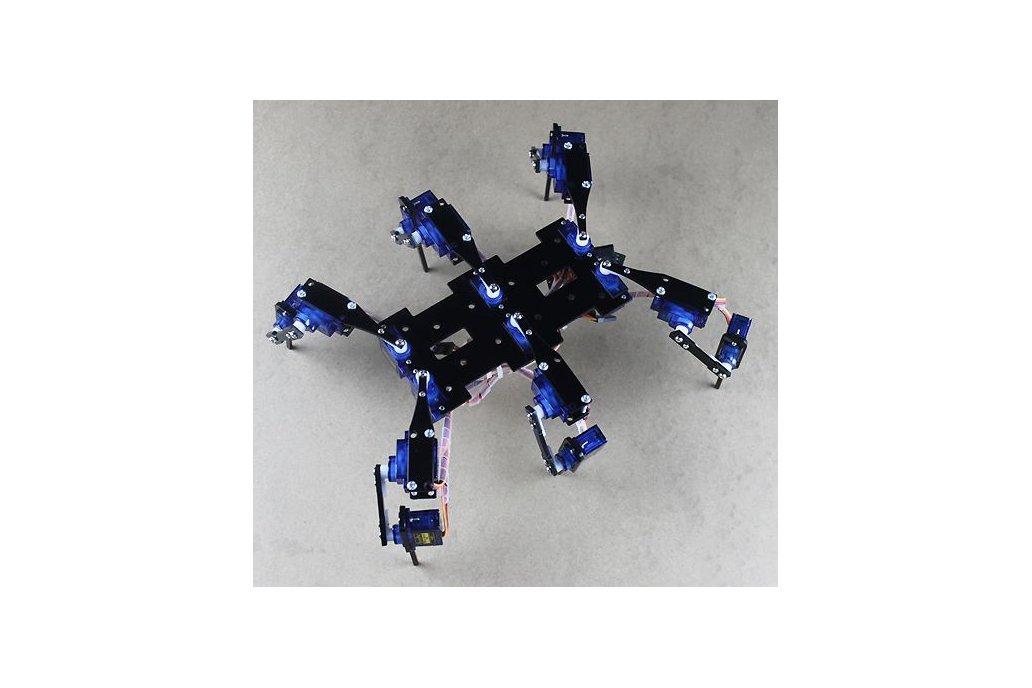 18DOF Hexapod 4 RC Mini Spider Robot Frame 1