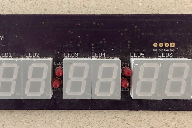BODGE BIN: GPS Clock prototype boards