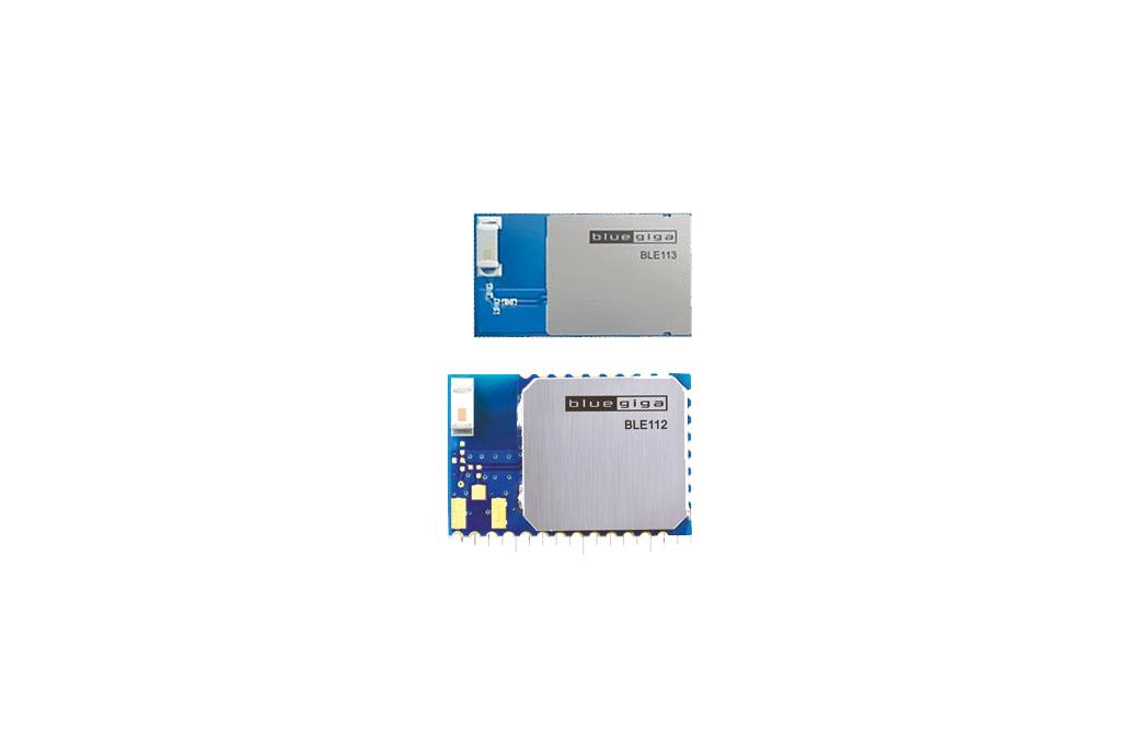 Bluegiga BLE112 to BLE113 footprint adapter 3