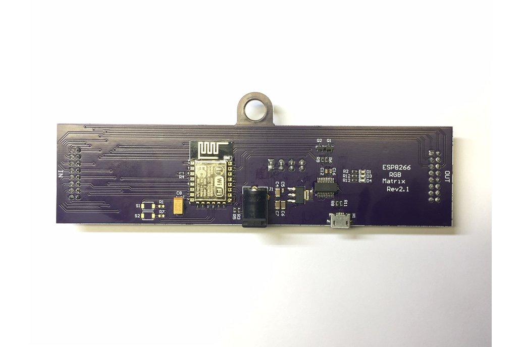 64x32 RGB Led Matrix ESP8266 Driver Board 3
