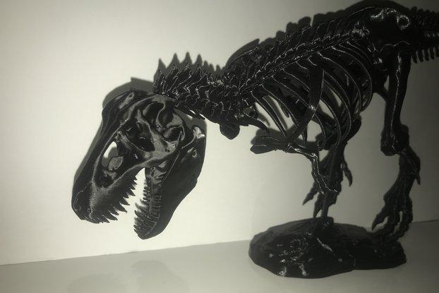 3D Printed Tyrannosaurus Rex T-rex Skeleton Puzzle