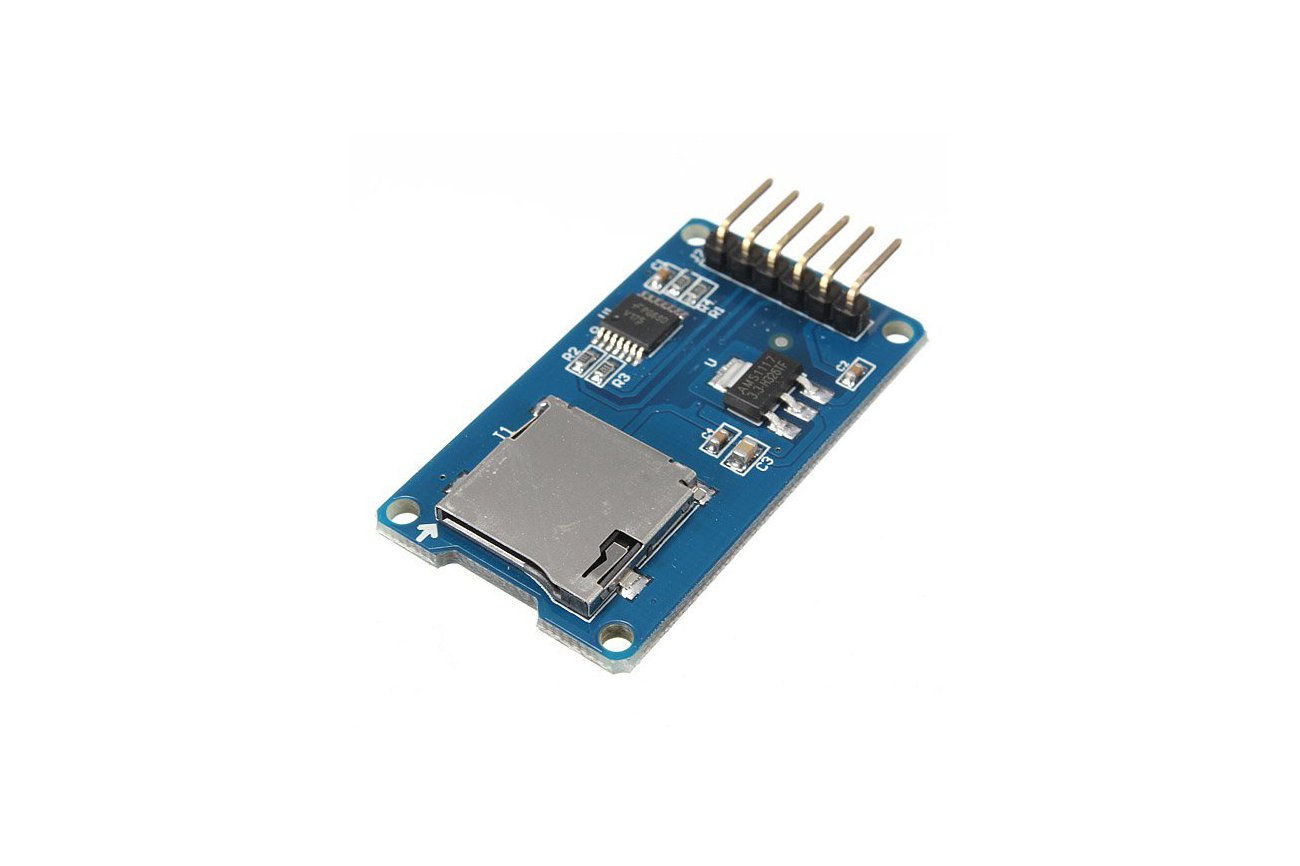 how to connect sd card reader to arduino