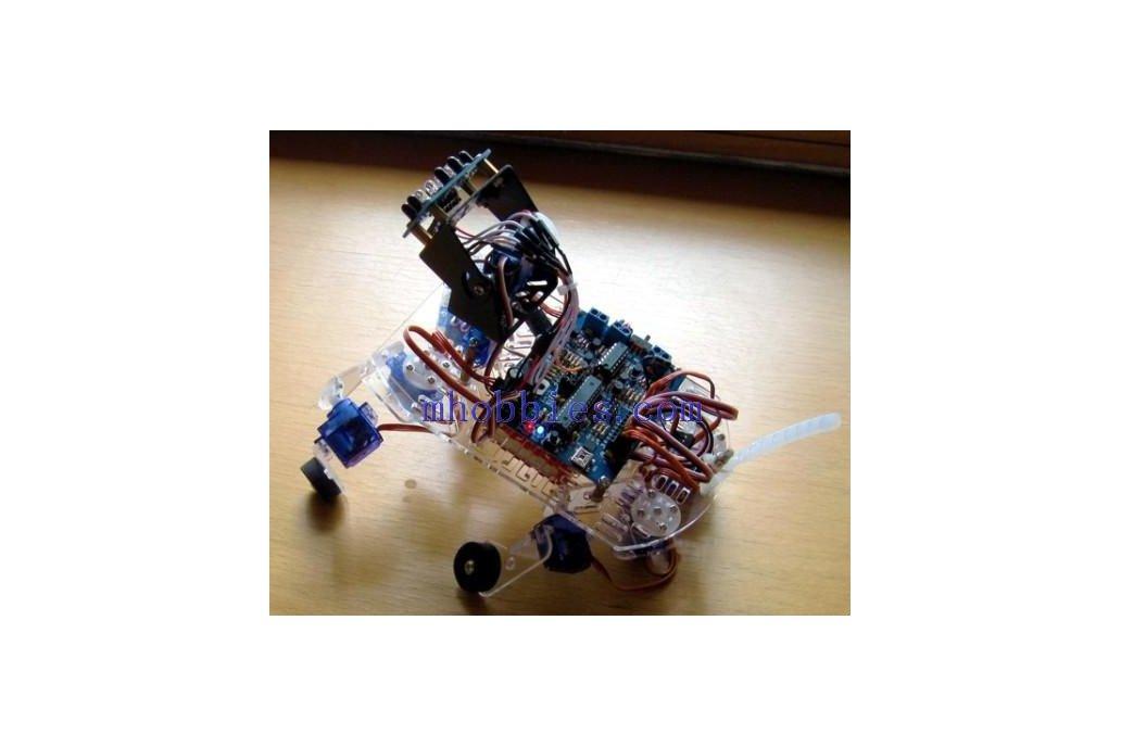 Quad_Puppy machines dog quadruped robot Kit 1