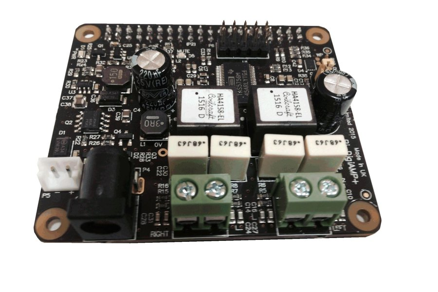 Pi-DigiAMP+ up to 2x35w PowerDAC for the Pi