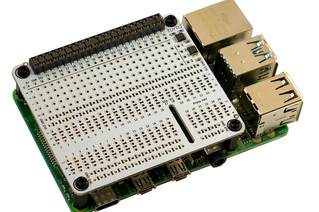 Proto HAT with ADC for Raspberry Pi