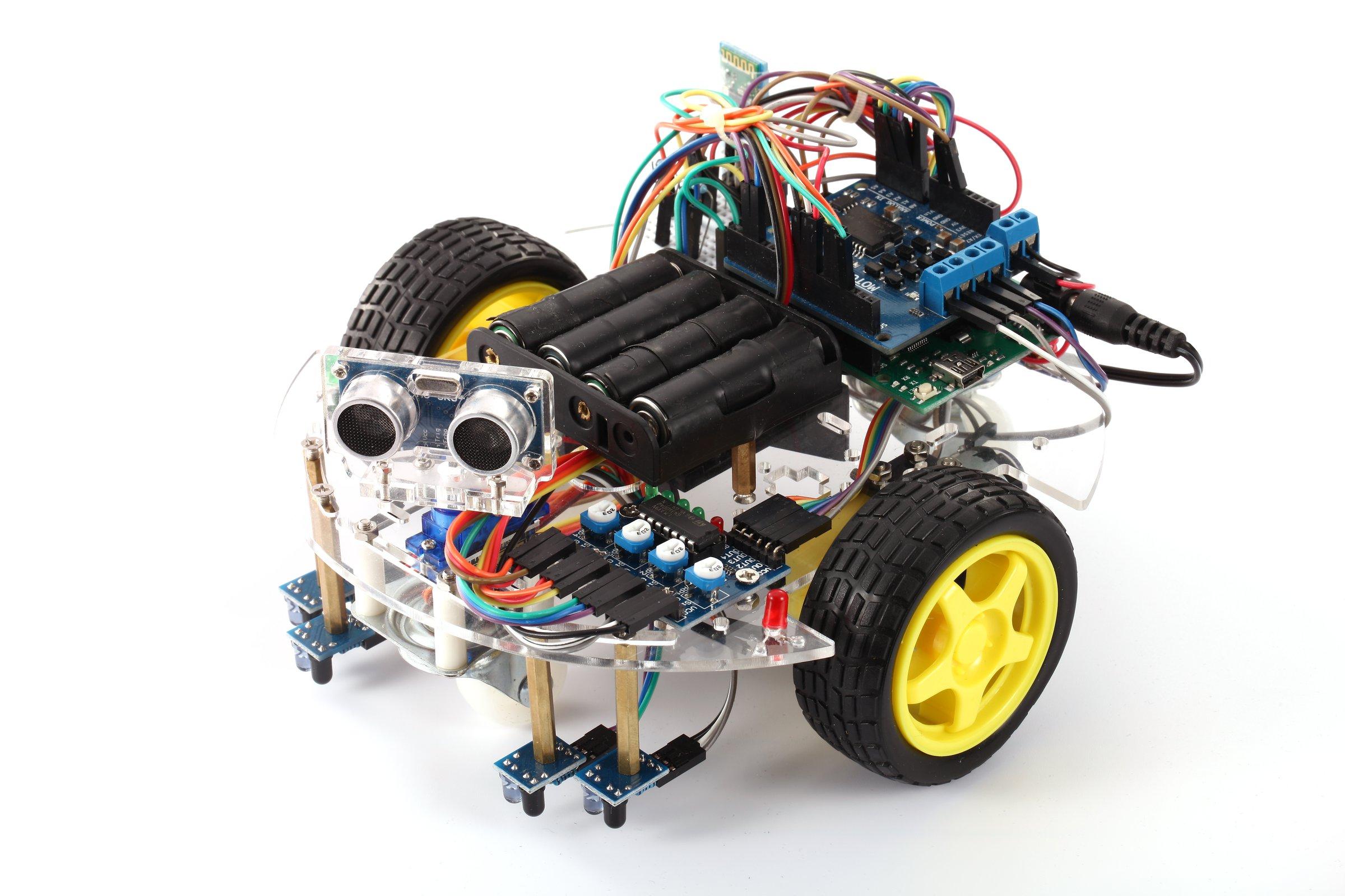 Arduino starter kit ebot z smart car robot chassis from elab peers arduino starter kit ebot z smart car robot chassis 1 malvernweather Images