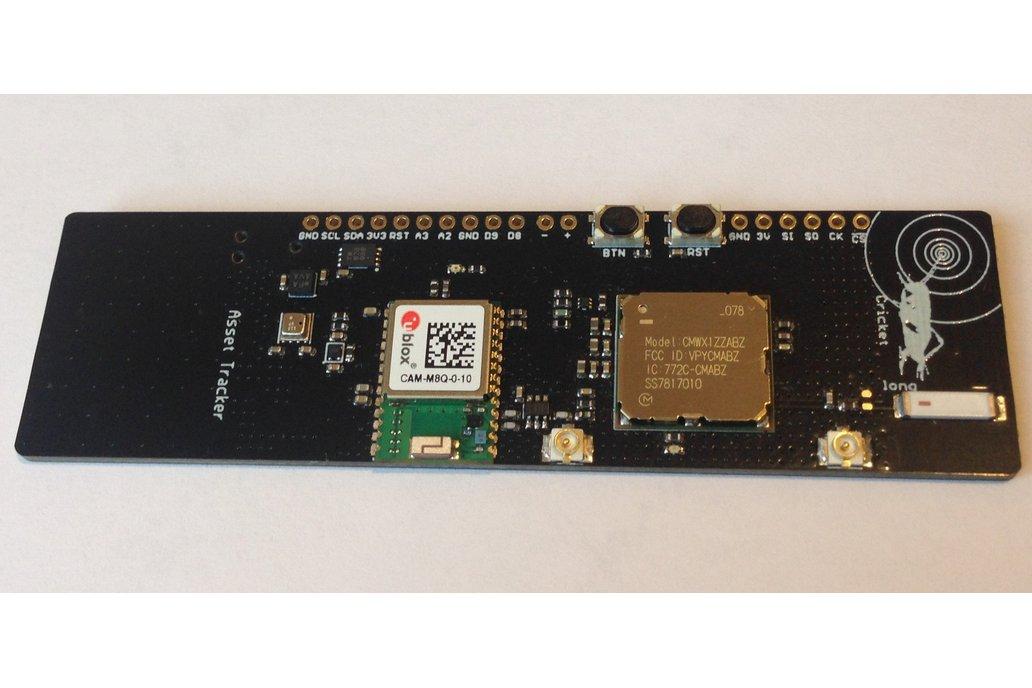Long Cricket LoRa/LoRaWAN/GNSS Asset Tracker 1