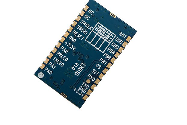 LN610 20dBm TTL LORAWAN node serial RF module