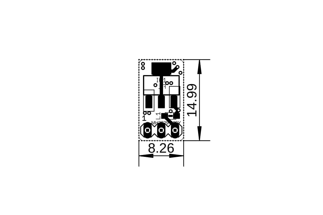 3.3v/1A 3-pin Linear Voltage Regulator w/polyfuse 4