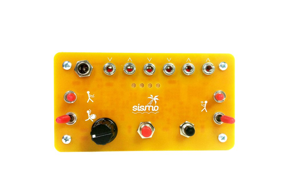 Sismo Tapbum Analog Synthesizer 1