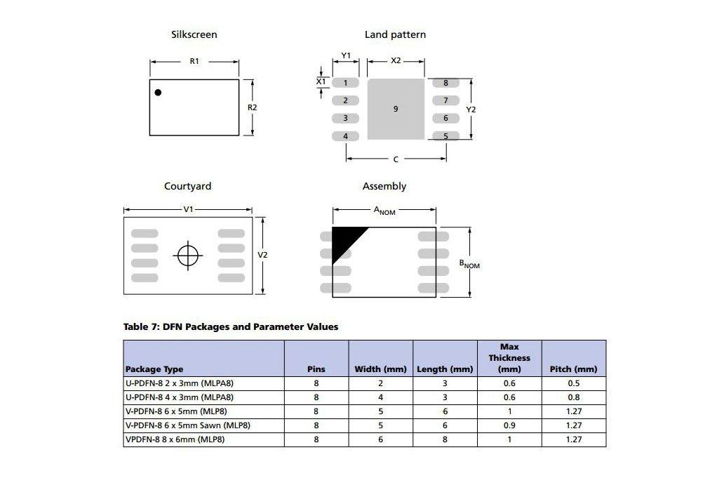 MLP8 Footprint to DIP8 Breakout 3