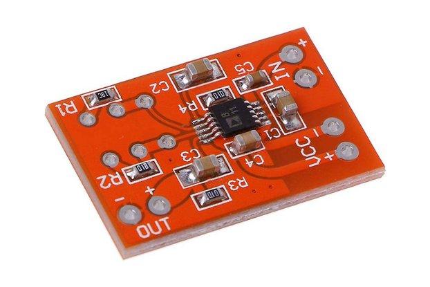 SSM2167 Microphone Mono Preamplifier Board