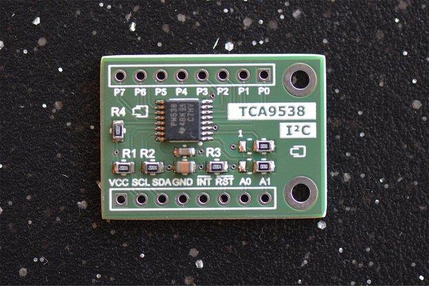 TCA9538 Remote 8-bit I2C Low-Power I/O Expander