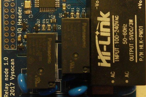 RFM69 2x relay node