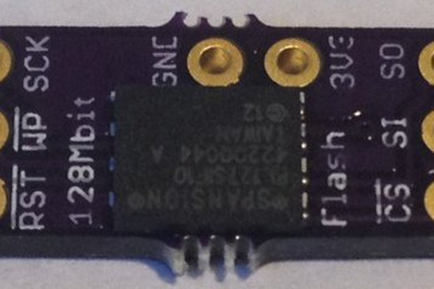 SPI Flash Memory Add-ons for Teensy 3.X
