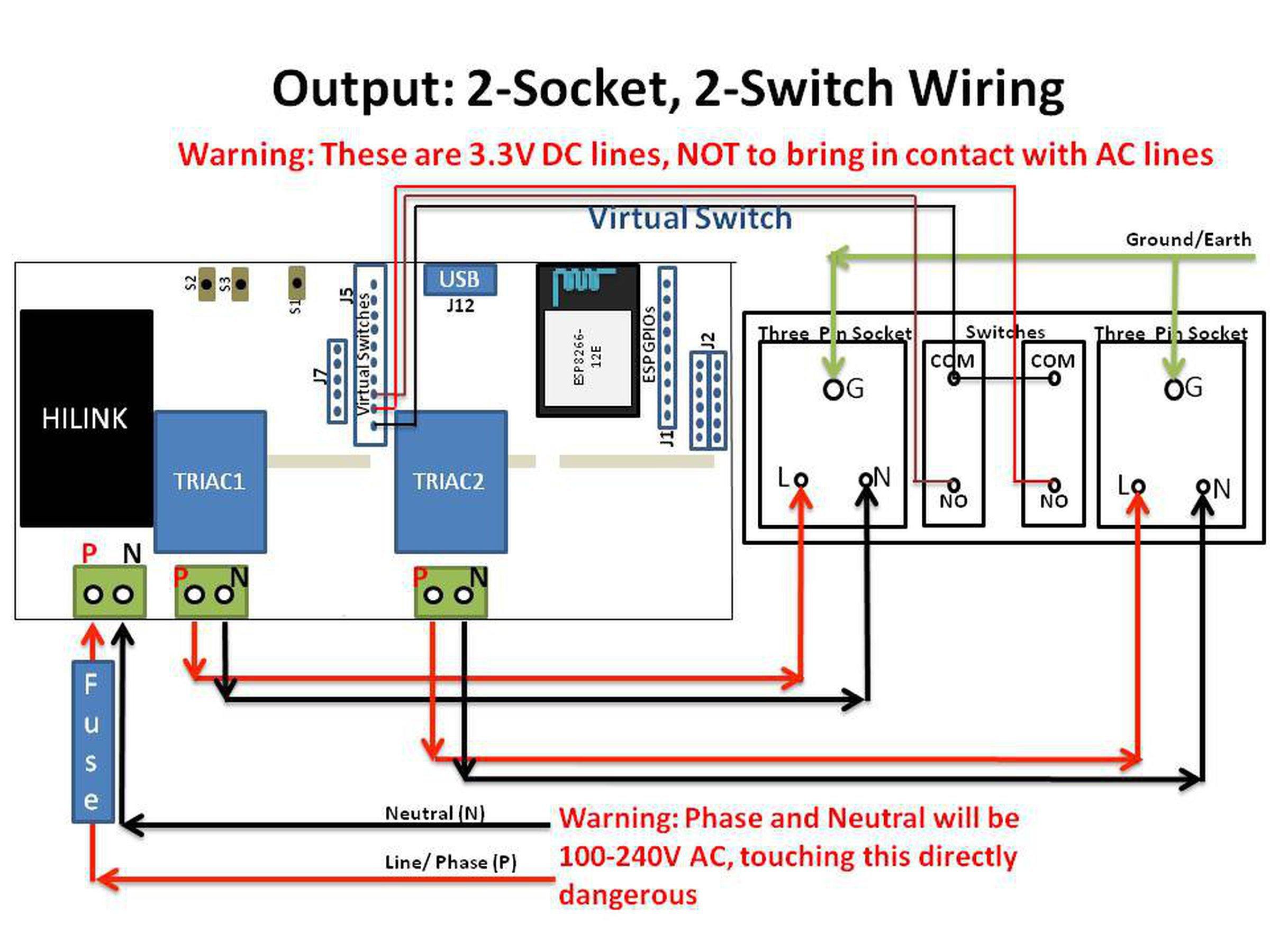 WiFi AC Dimmer with ESP8266 & Atmega328p 4
