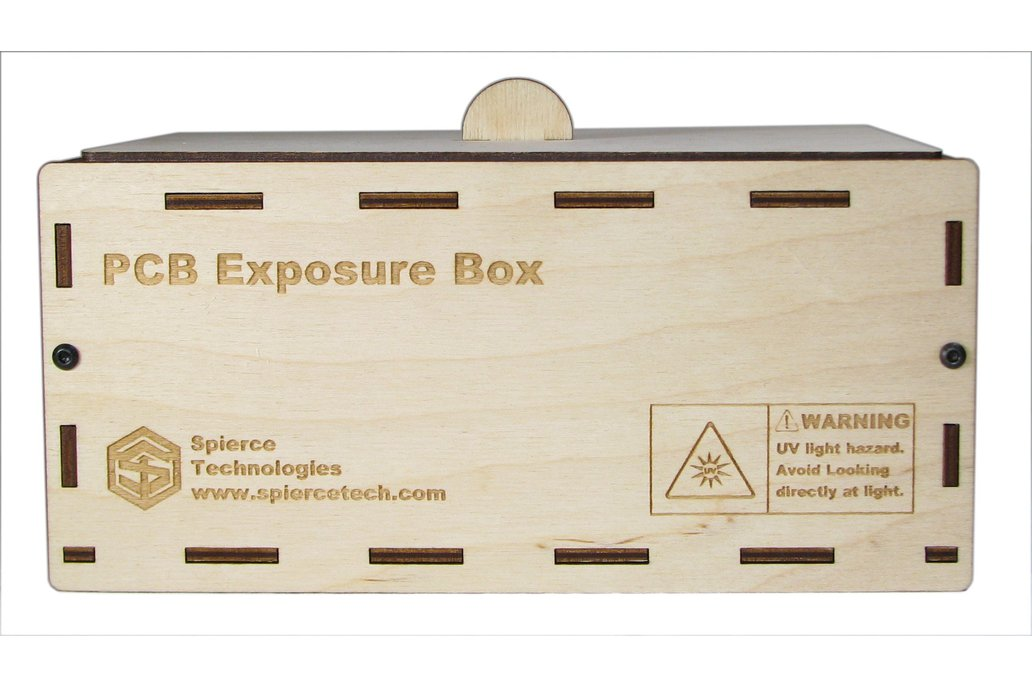 """PCB UV Exposure Box, 6"""" x 4"""" 2"""