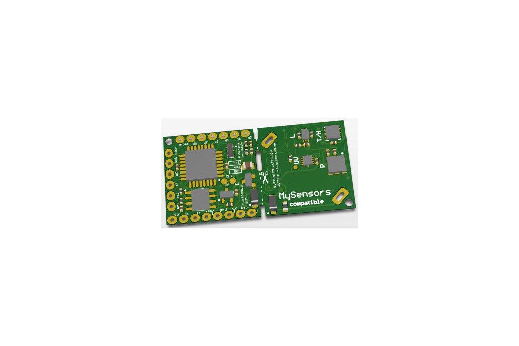 Button Sized RFM69 Wireless  Node 4