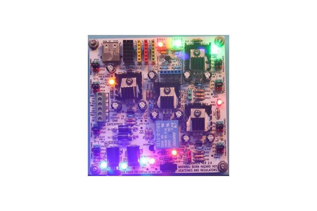 PowerBrick 2.0: Versatile Hobbyist Power Supply 1