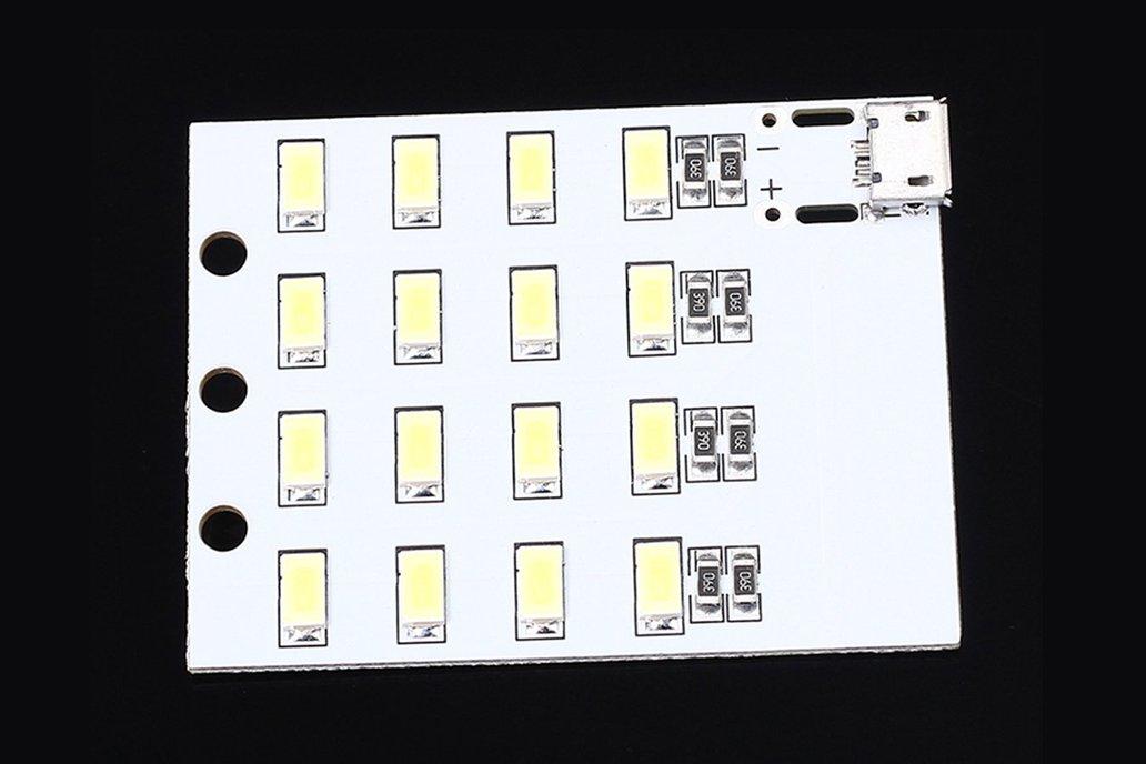 5pcs Micro USB 5730 SMD LED Emergency Light(12510) 4