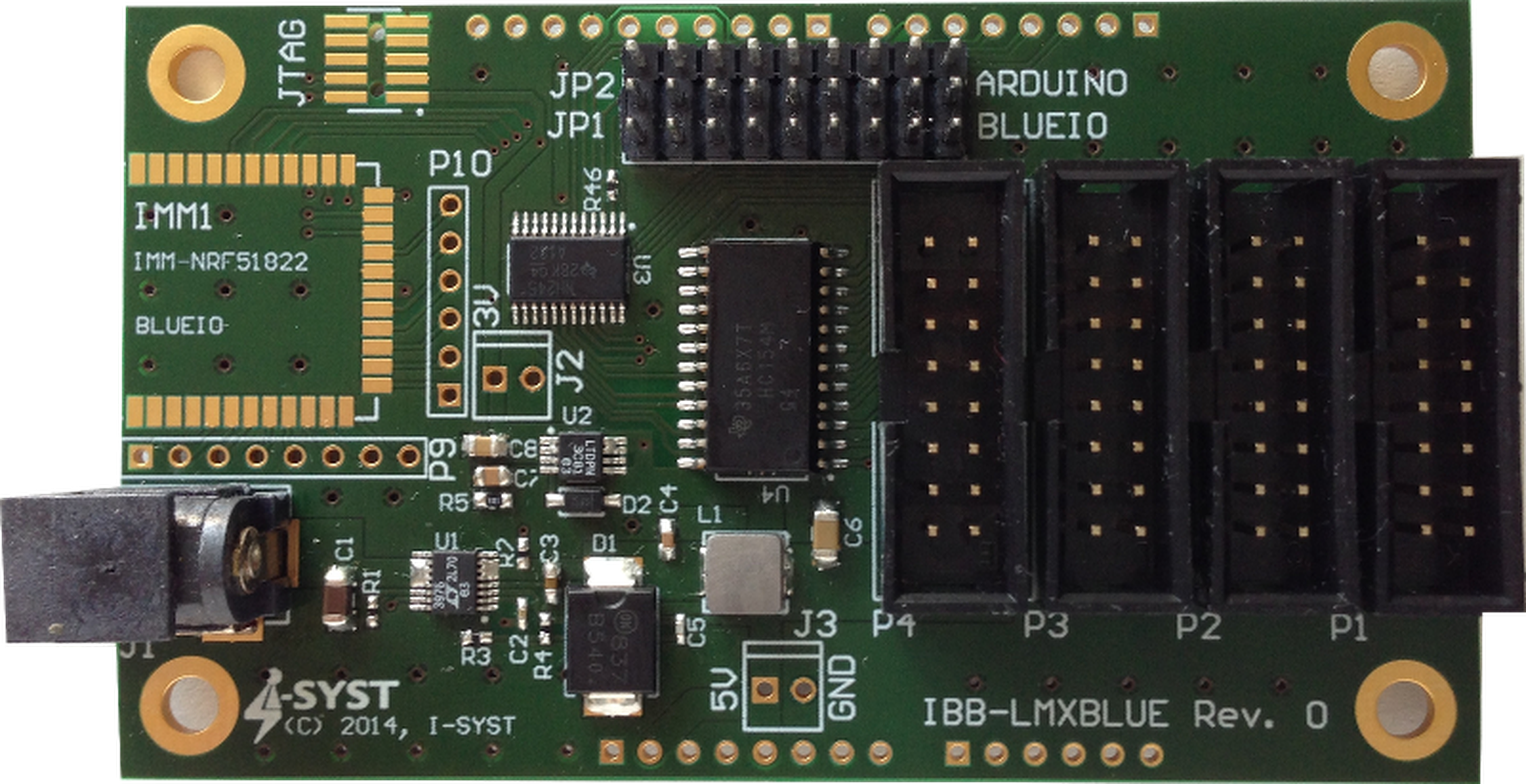 Led matrix display board for arduino arm from i syst