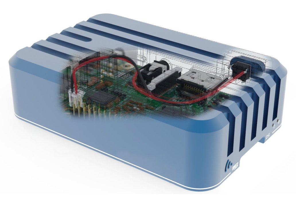 Aluminum Case for Raspberry Pi 3 15